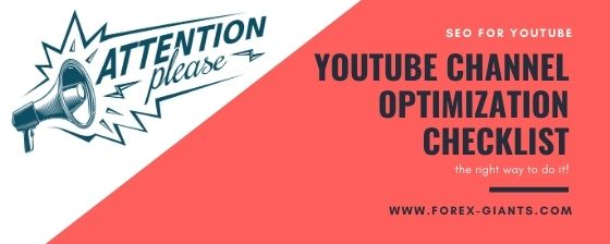 youtube seo optimization checklist - a fast and effective way to keep youtube optimized