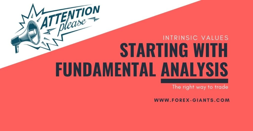 fundamentals analysis for new traders of the financial markets